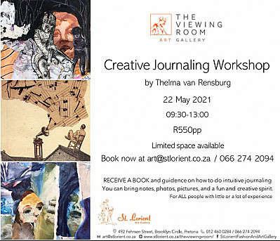 Creative Journaling with artist Thelma Van Rensburg
