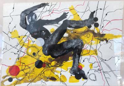 Angela Kutlwano Monyai - I see myself falling