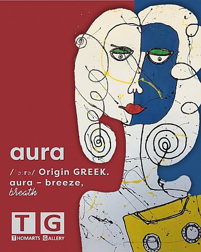 AURA/ˈɔːrə/ Origin GREEK. aura – breeze, breath
