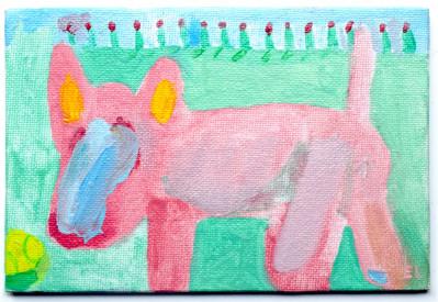 Frank, the Bull Terrier