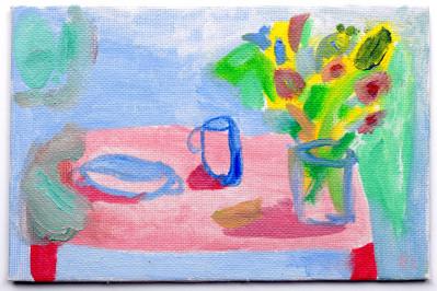 Table Arrangements with Le Creuset Casseroles
