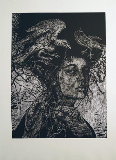 Clotho, The Weaver (framed)