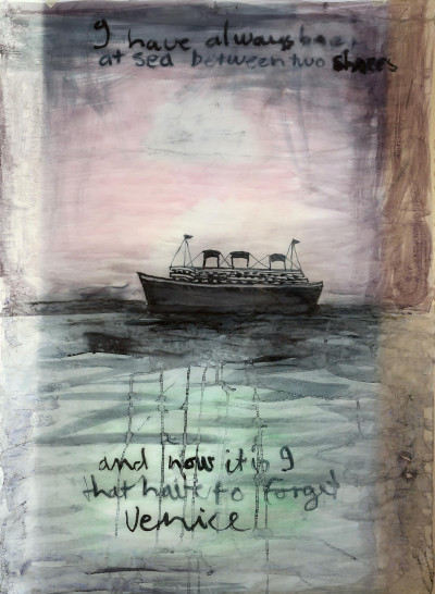 To forget Venice (triptych)