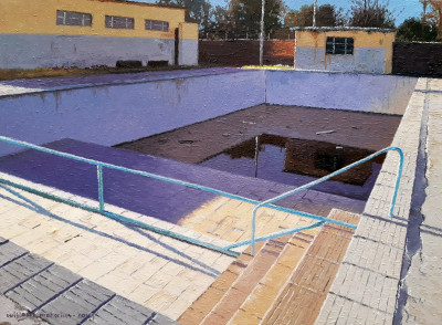 Abandoned Pool, Nelspoort