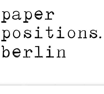 Paper Positions Berlin 2020