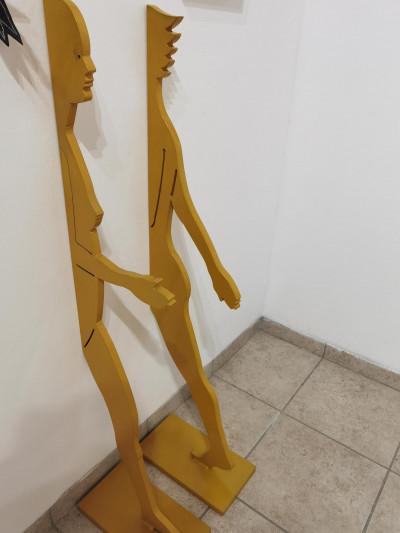 Yellow Split Female Walker Set