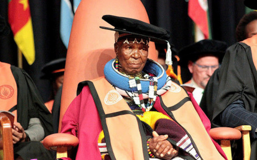 Honorary doctorate from The University of Johannesburg, South Africa: