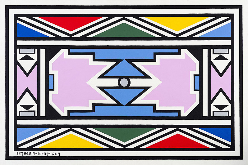Ndebele Abstract