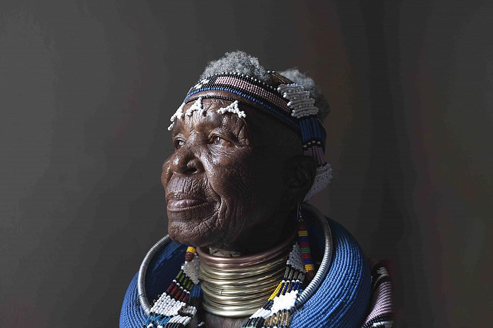Dr Esther Mahlangu's Solo At The Investec Cape Town Art Fair