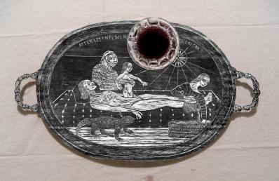 Birthing Tray - Wine