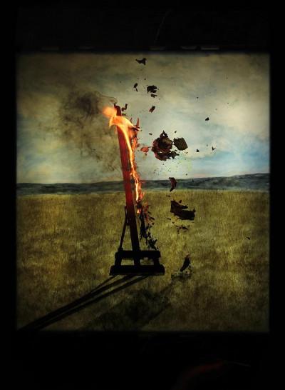 The Santiago cross/ Velasquez at BurntKraal: Slant Away Slightly