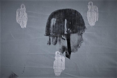 Embroidered veils