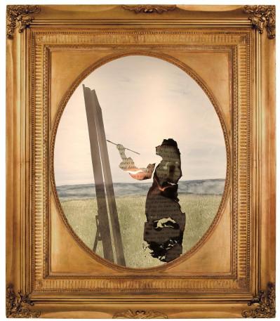 The Santiago Cross/ The Visitors: Painter