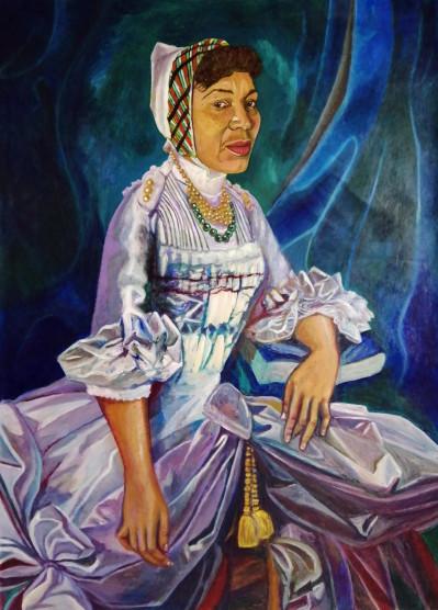 Marie Antoinette (Zora Neale- Hurston portrait)