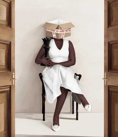 White dress ed 3/3. Not Fragile Series