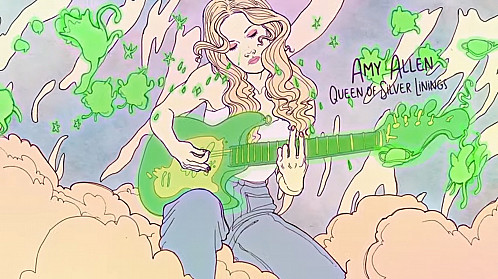 Octavia Roodt & Toon53 Productions Illustrate the 'Queen of Silver Linings' Official Music Video by Amy Allen