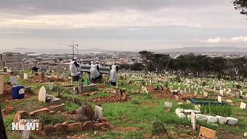 Democracy Now!: 'COVID-19 Lays Bare South Africa's Rampant Inequality & Fault Lines of Post-Apartheid Society'