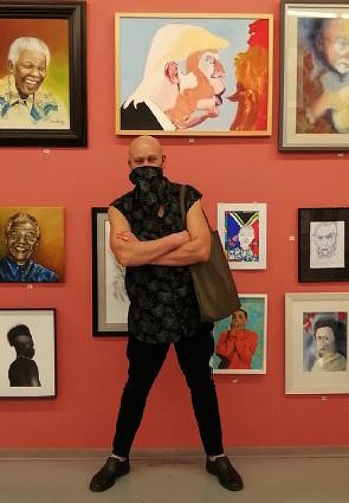 ART TIMES: 'M.O.L 13 Art As Therapy' By Ashraf Jamal