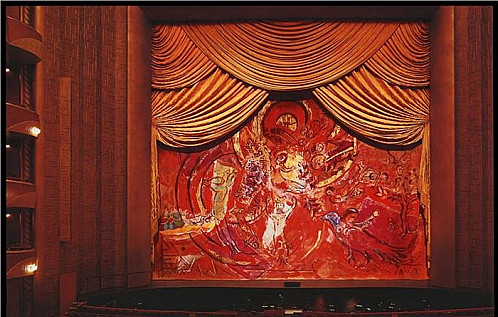 """MutualArt: 'Chagall's Massive Curtain From the Famed """"Magic Flute""""' By Maya Garabedian"""