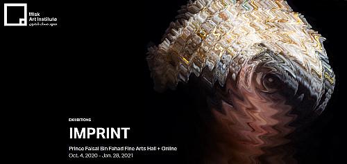 Madiha Sebbani featured in 'IMPRINT' Curated By Latifa Abdulrahman Al Khalifa