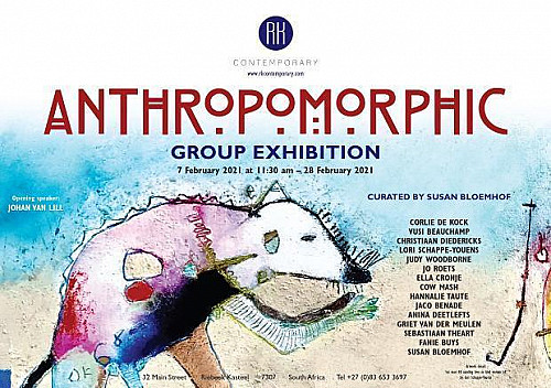 Cow Mash Featured in 'Anthropomorphic' Group Exhibition at RK Contemporary