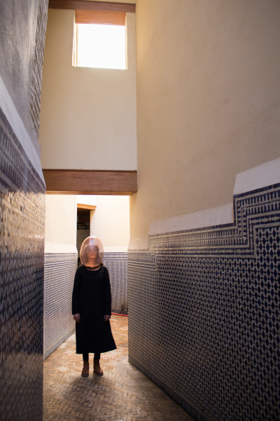 Corridor (Still from Performance in Morocco)