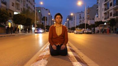 Mertesger listens to earth IV (Performance in Tétouan, Morocco 2015)