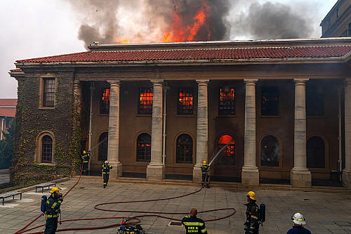NY Times: 'Wildfire Deals Hard Blow to South Africa's Archives'