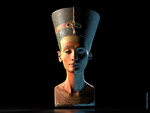 """Hyperallergic: 'What the """"Nefertiti Hack"""" Tells Us About Digital Colonialism'"""