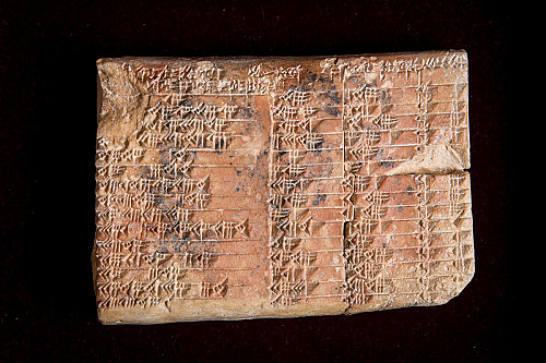 Hyperallergic: 'Tablet Reveals Babylonians Studied Trigonometry Before the Greeks'