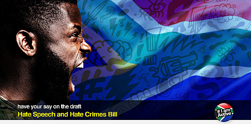dear SOUTH AFRICA: 'Hate Speech and Hate Crimes Bill – Call for comment'
