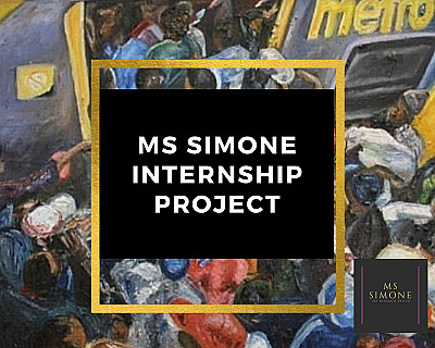 Ms Simone in partnership with VANSA, Department of Sport, Arts and Culture and the Art Bank South Africa presents one paid internship