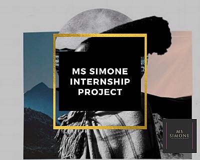 Ms Simone Paid internship project