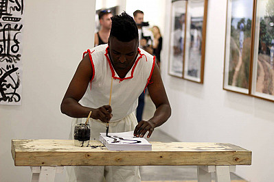 Cape Town Art Fair 2018 - individual project by Januário Jano