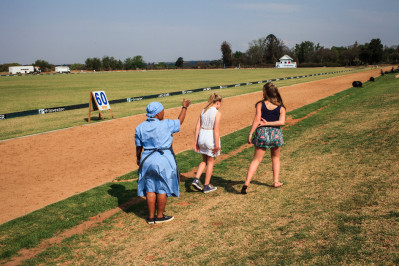 Domestic worker at Inanda Polo Club in Sandton