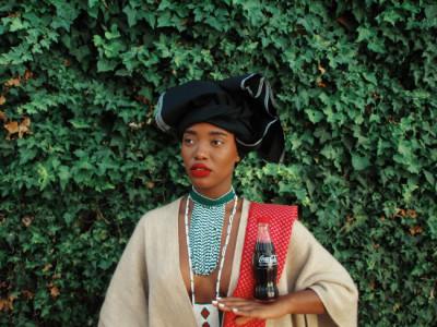 Xhosa Woman - Black Coca Cola Series,