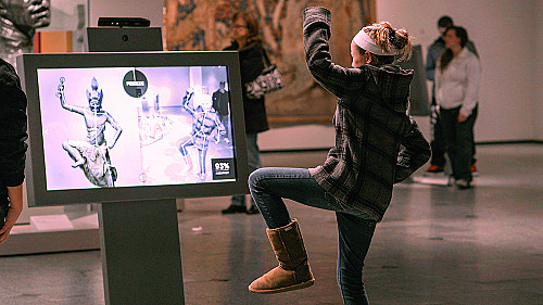 Technology is changing how people experience art and museums.